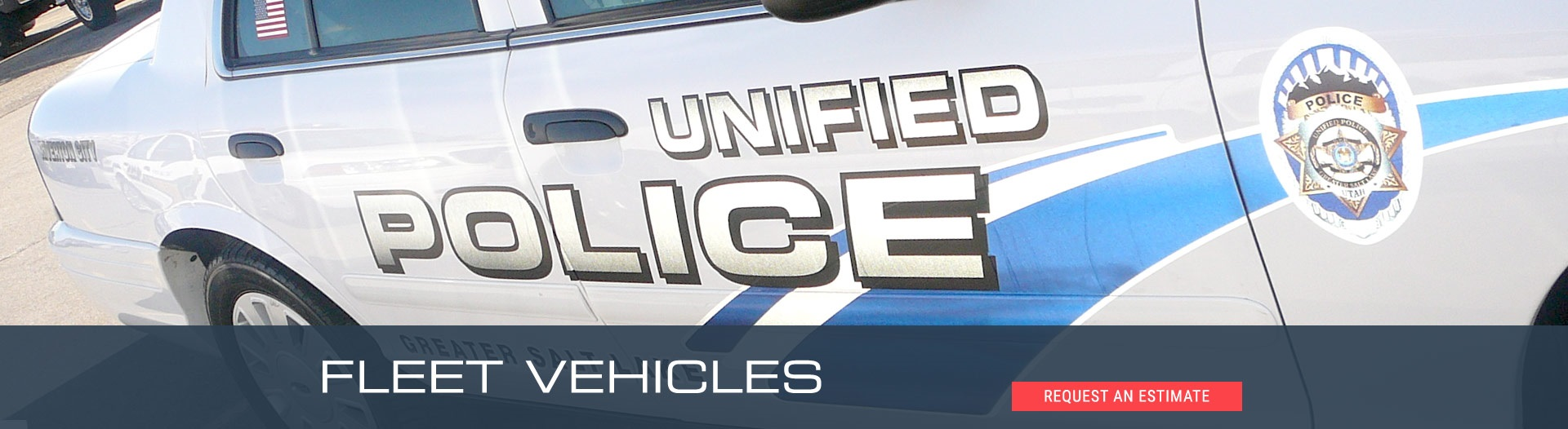 Vehicle Wrap for the Unified Police Cars