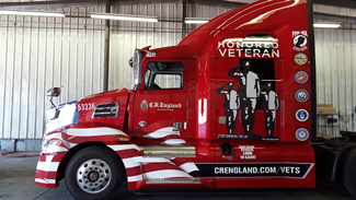 CREngland.com/Vets Vehicle Wrap