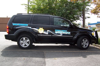 Sheriff Vehicle Wrap