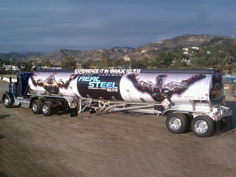 Movie Graphic made into Vehicle Wrap