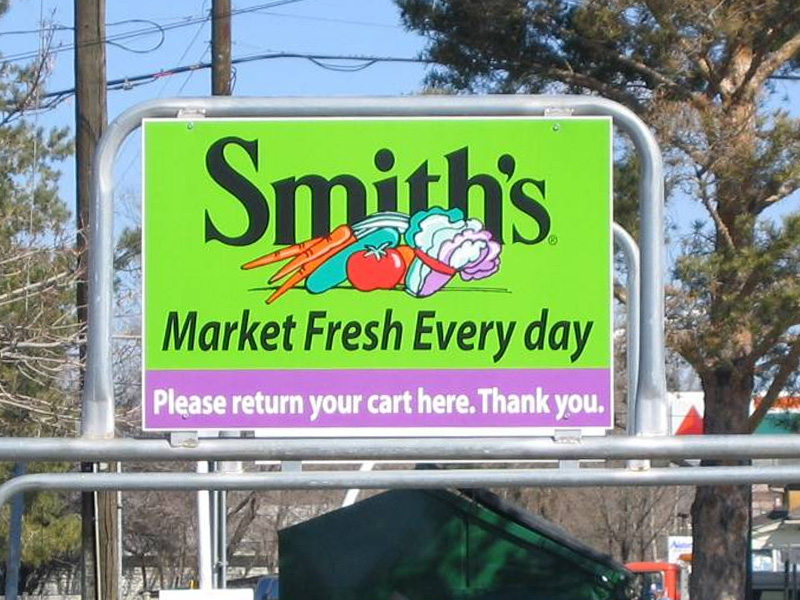 Sign for Smith's Marketplace