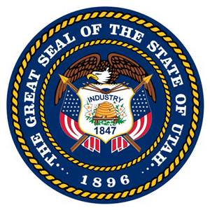 The Great Seal of the State of Utah logo